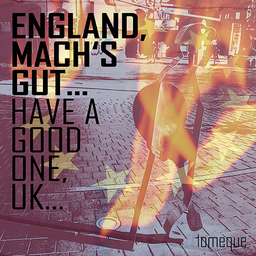 Artwork zu tomeque's Single 'England mach's gut...'